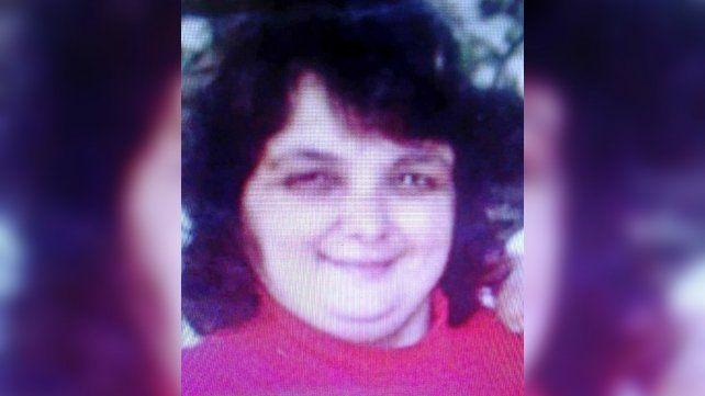 La mujer desaparecida tiene 57 años y 1