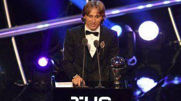 El croata Modric puso fin a una década dominada por Messi y Cristiano