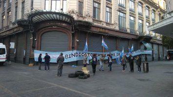 Empleados de Comercio en Sarmiento y Córdoba.