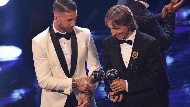 The Best FIFA 2018: La Gala de los premios en imágenes