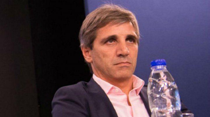 Luis Caputo renunció a la presidencia del Banco Central