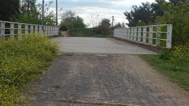 No pasarán. El puente bloqueado en Azcuénaga al 9100.