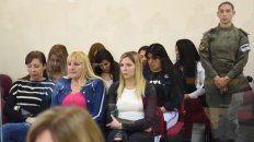 Bajo la lupa. Ayer las imputadas estuvieron en escuchas y en las palabras del primer testigo del juicio.