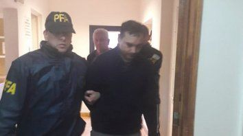 Julio Alvarez fue detenido en la casa de sus padres en Río Gallegos.