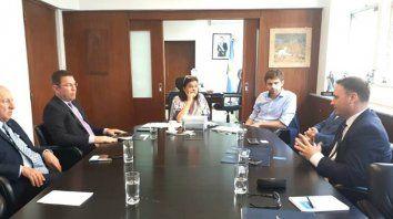 Encuentro. En Buenos Aires se concretó la reunión entre la delegación santafesina y autoridades de la Nación.
