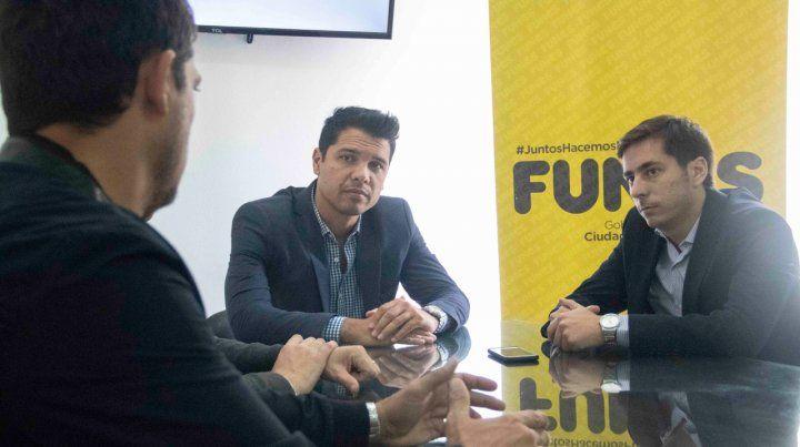 Gestiones. El intendente León Barreto concretó fondos para iniciar obras.