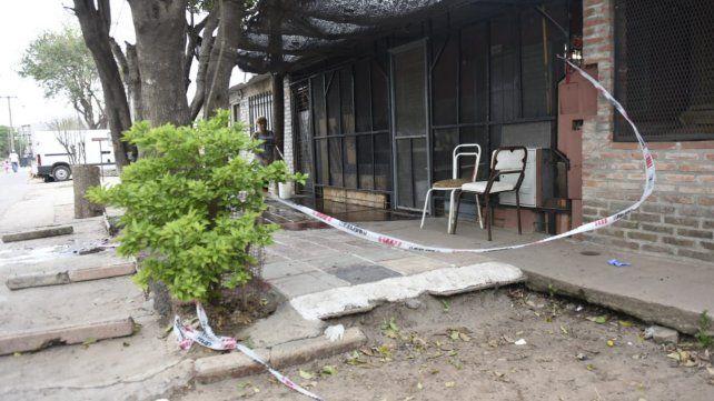 Silla vacía. El lugar donde fue sorprendido don Albino por los delincuentes que le quitaron la vida con un tiro.