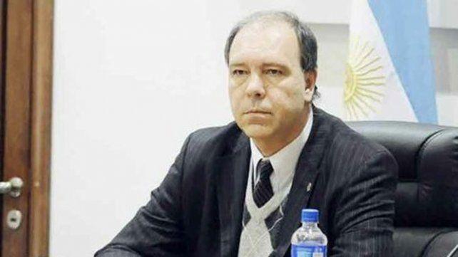 El juez. Hernán Postma decidió que Sandoval vuelva tras las rejas.