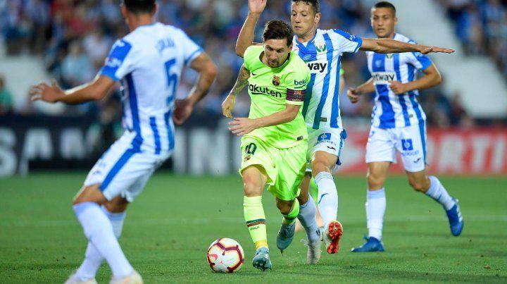 Messi no apareció y Barcelona perdió