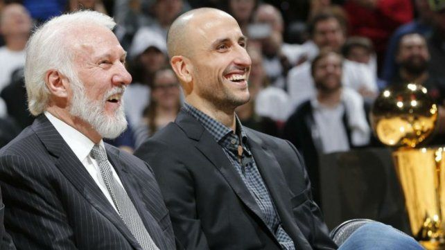 Manu Ginóbili podría volver de ayudante a los Spurs