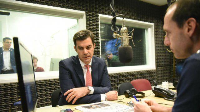 El gobernador de Salta en diálogo con Guillermo Zysman.