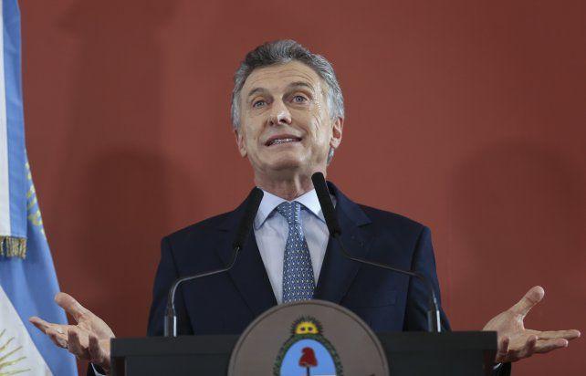 Macri dijo que la meta del gobierno será siempre reducir la pobreza