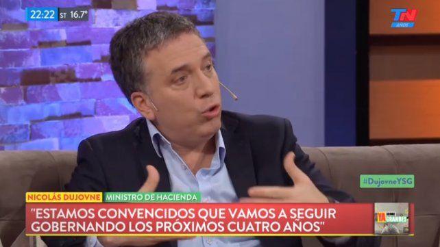 No tengo dudas que Macri va a ganar en 2019, dijo Dujovne
