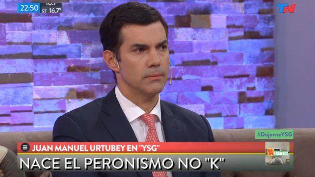Urtubey lanzó un nuevo partido y dijo que Tinelli puede ser el candidato