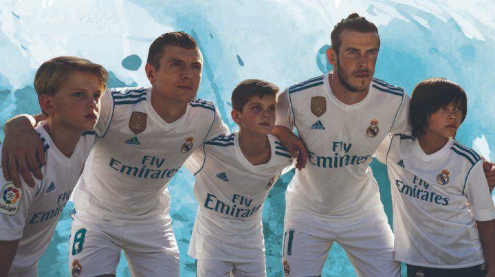 La Fundación Real Madrid llega con clínicas de fútbol a Rosario
