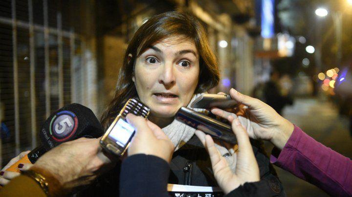 La fiscal Prunotto intervino en el caso.
