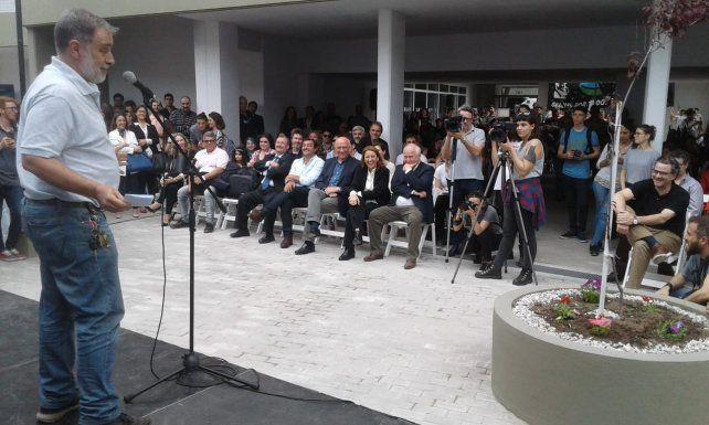 Edgardo Carmona, el secretario General del Sindicato de Prensa, destacó la concreción del proyecto.
