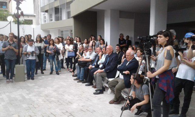 Más de 80 familias de Prensa, del Sindicato de Televisión y médicos ya tienen su casa propia