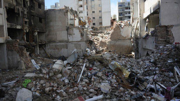 Histórico. La peor explosión en Rosario ocurrió el 6 de agosto de 2013.