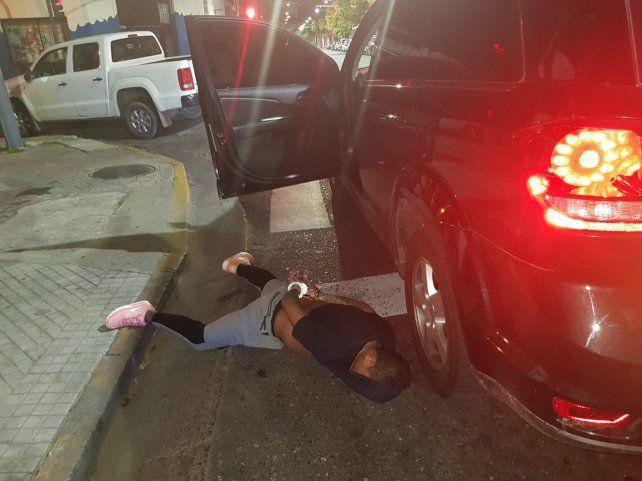Apresado. Víctor A. cayó el miércoles a la noche en Mendoza y Lima.