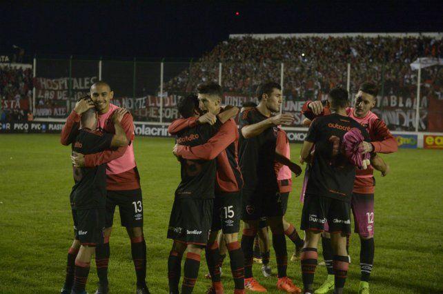 Antecedente. En Junín hubo apoyo a los rojinegros por Copa Argentina ante Cadu.