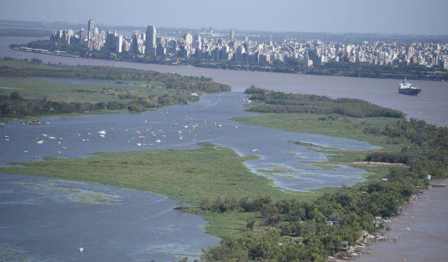 Uno de los símbolos locales aparece como alternativa para las personas que arriben a Rosario.