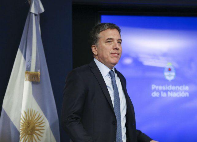 Ministro. Dujovne defendió el sistema de banda cambiaria que aplicará el Banco Central.