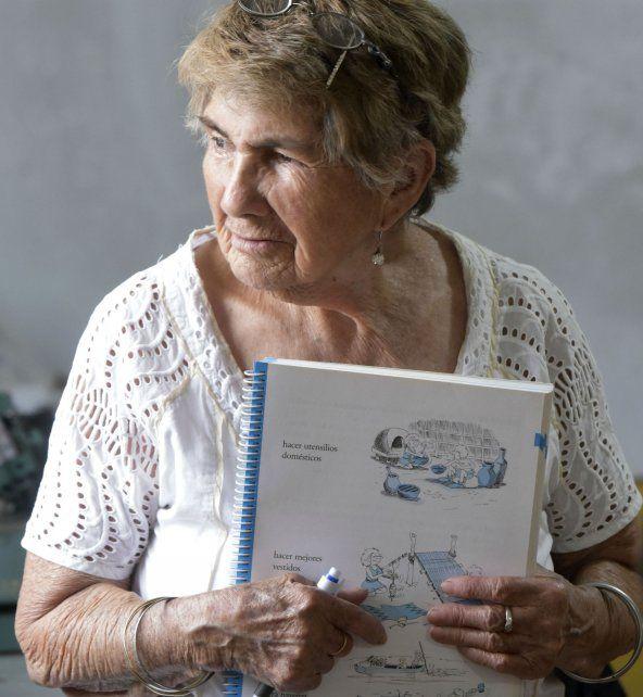 Ramona, la mujer a la que la escuela le cambió la vida