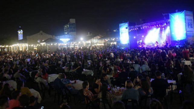 El Mercado del Patio cerró un fin de semana a puro festejo