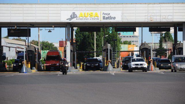 Recoleta. El hecho ocurrió a las 2.30 de ayer a metros de la estación de peaje Retiro de la autopista Illia.