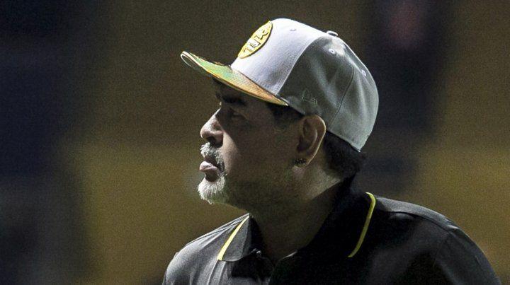 Maradona se postuló como vice de Cristina