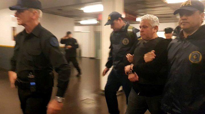 Bajo la lupa. Gutiérrez fue detenido el miércoles en Santa Cruz.