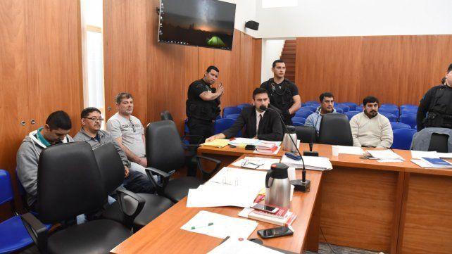 Banquillo. El juicio oral a los ocho imputados comenzó la semana pasada.