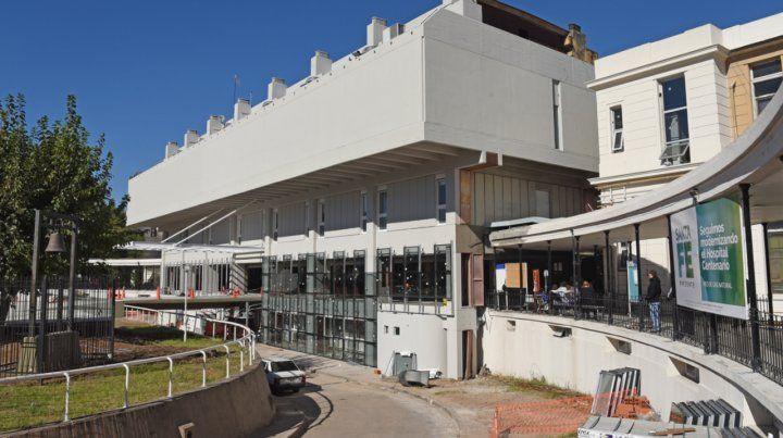 El Hospital Centenario de Rosario.