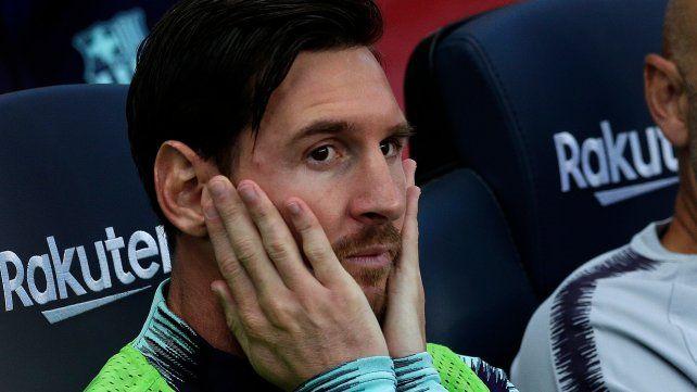 Sin apuro. Messi espera en Wembley.