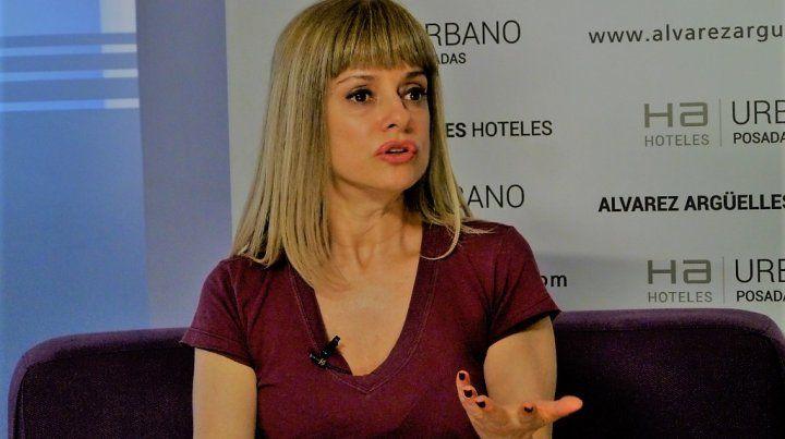 Florencia Canale presenta su libro Salvaje Urquiza
