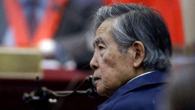 Ochenta años. Alberto Fujimori tal cual se lo vio en abril pasado.