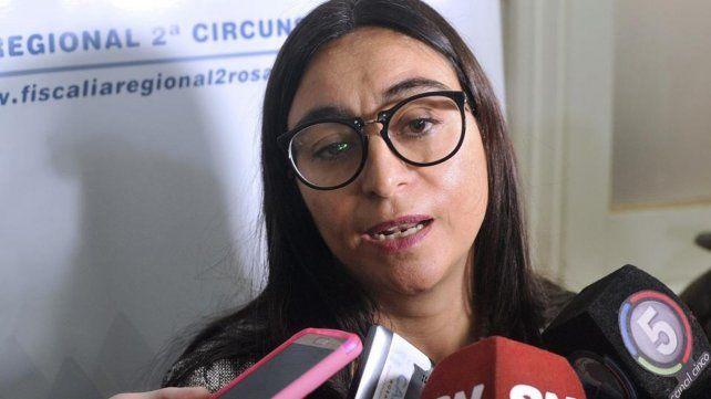 La fiscal Georgina Pairola.