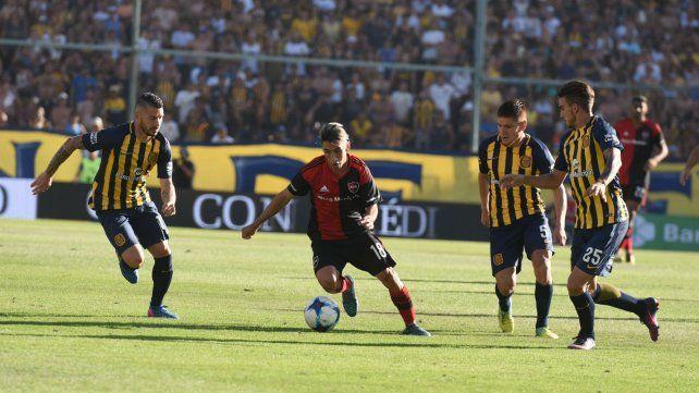 El último clásico se jugó en diciembre en el 10 de diciembre en el Gigante de Arroyito.