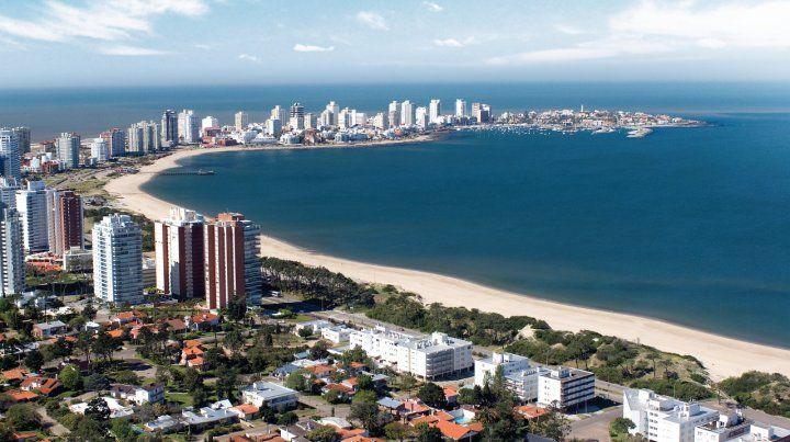 Playa y glamour. La ciudad de Punta del Este