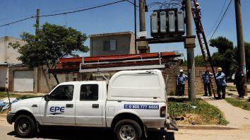 Alerta. Ya 20 usuarios de Firmat sufrieron los cortes del servicio eléctrico.