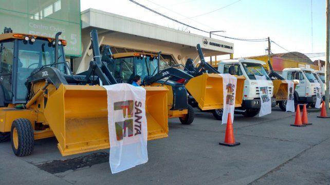 Dotarán de maquinaria a Venado y 10 localidades