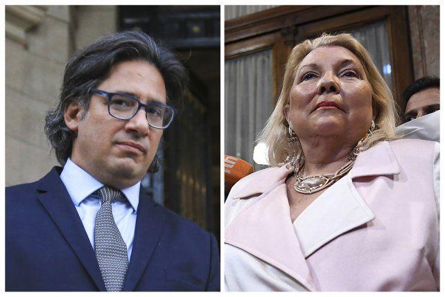Grieta. Garavano optó por bajar el tono pero Carrió potenció su embestida y le escribió una carta abierta a Macri.