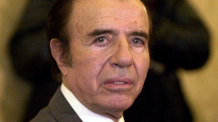Menem fue absuelto en la causa por la venta ilegal de armas