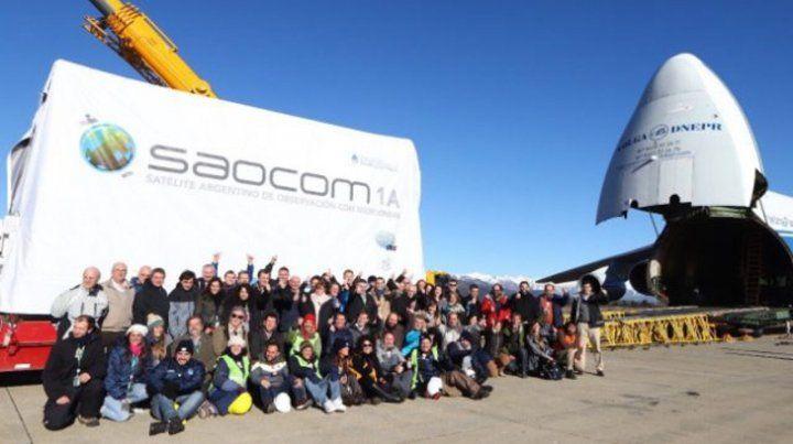 Postergado. El satélite argentino será lanzado desde Santa Bárbara.