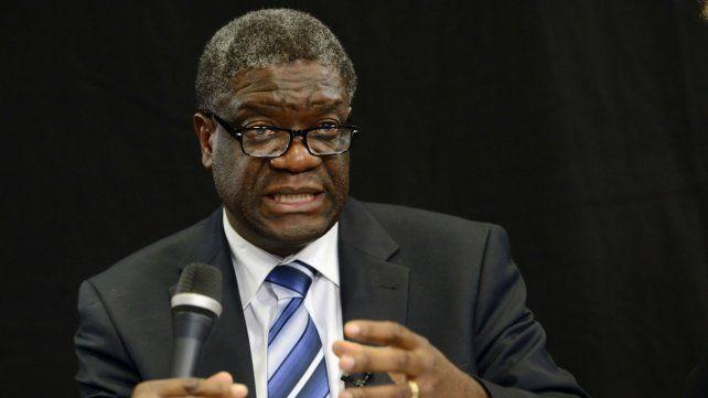 Denis Mukwege, el médico que dedicó su vida a tratar a víctimas de violencia sexual.