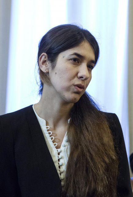 Nadia Murad  es una yazidí que fue capturada por el grupo extremista Estado Islámico.