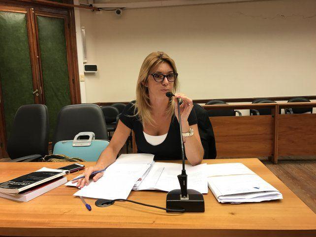 La fiscal de Santa Fe, María Laura Martí, fue imputada por las escuchas ilegales al ministro Maximiliano Pullaro.