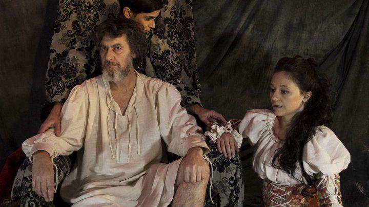 Edgardo Molinelli y Paula García Jurado.