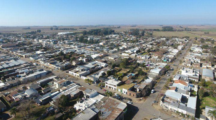 La localidad. Elortondo es de las más pobladas de su departamento.